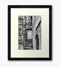 Wexford Town old stairs Framed Print