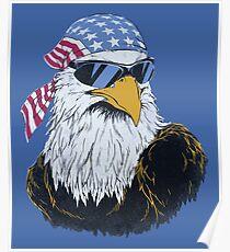 Eagle Patriot Poster