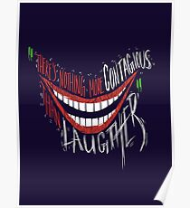 Beware of that Contagious Smile Poster