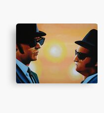 The Blues Brothers Painting Canvas Print