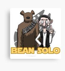 Bean Solo Canvas Print
