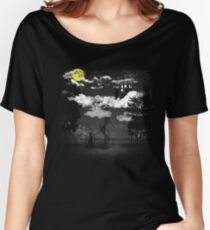 There is a doctor between clouds Women's Relaxed Fit T-Shirt