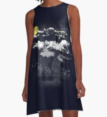 There is a doctor between clouds A-Line Dress