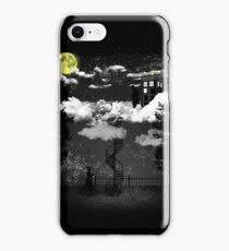 There is a doctor between clouds iPhone Case/Skin