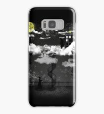 There is a doctor between clouds Samsung Galaxy Case/Skin