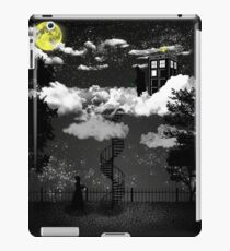 There is a doctor between clouds iPad Case/Skin