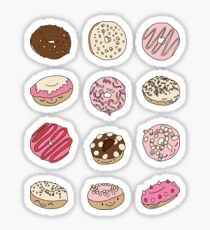 Donut paradise by Elebea Sticker
