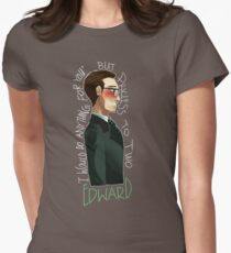 Nygmobblepot Matching Shirt-Edward Womens Fitted T-Shirt