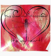 It's my heart! Poster