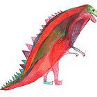 Red Dinosaur by malahania