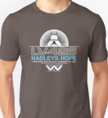 Hadleys Hope - Atmosphere Processing Plant - Aliens Unisex T-Shirt