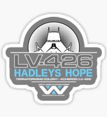 Hadleys Hope - Atmosphere Processing Plant - Aliens Sticker
