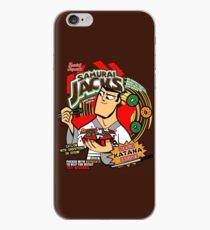 Vinilo o funda para iPhone Cereal Samurai
