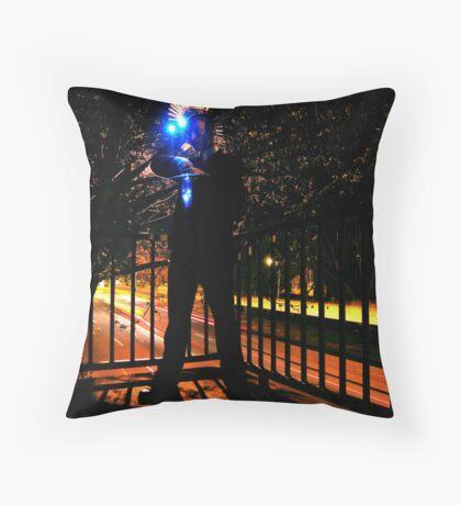 Hunting Light Throw Pillow