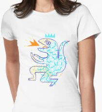 Dinosaur Arrrrr! Womens Fitted T-Shirt