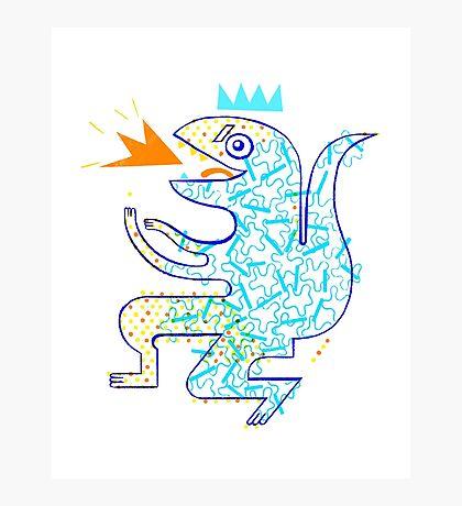 Dinosaur Arrrrr! Photographic Print