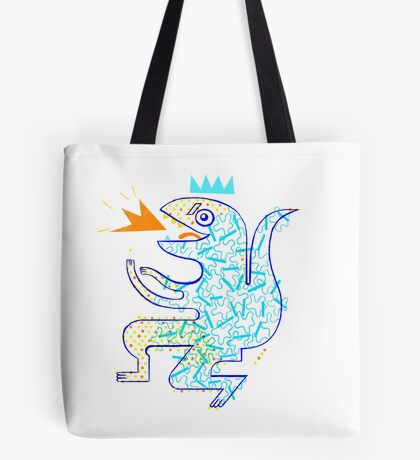 Dinosaur Arrrrr! Tote Bag