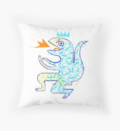 Dinosaur Arrrrr! Throw Pillow