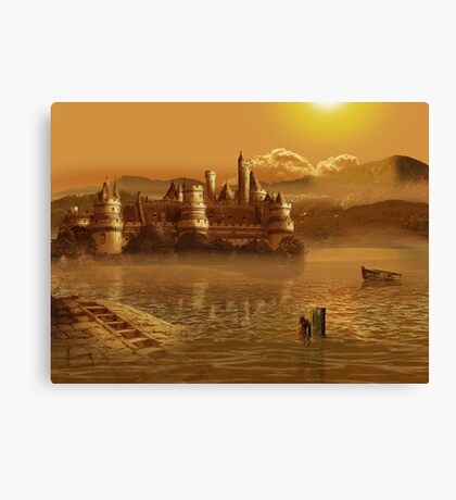 Fairytale castle Canvas Print