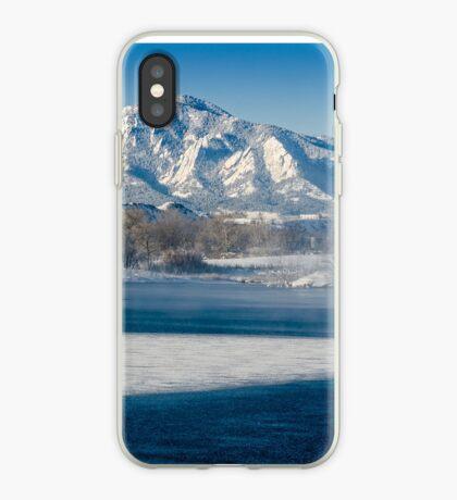 Breathing The Flatirons iPhone Case