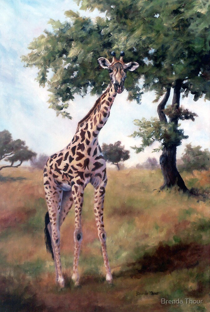 Standing Tall by Brenda Thour