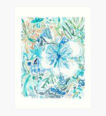 SMELLS LIKE BLUE NECTAR Art Print