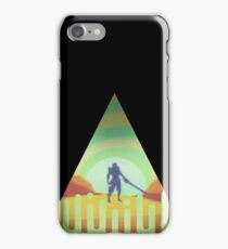 Character in triangle - Knight iPhone Case/Skin