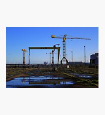 Harland & Wolff Crane Collection Photographic Print