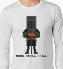 Black Knight - Monty Python and the Holy Pixel Long Sleeve T-Shirt