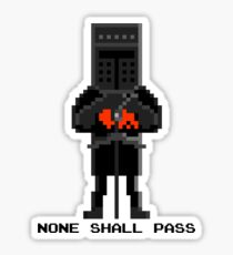 Black Knight - Monty Python and the Holy Pixel Sticker