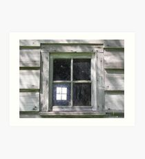 Window Within Art Print