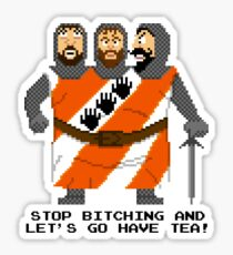 Threed Headed Giant - Monty Python and the Holy Pixel Sticker