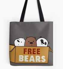 We Bare Bears Babys Tote Bag