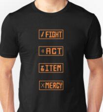 Undertale - Fight Menu Unisex T-Shirt