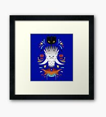 Trained Dragons Framed Print