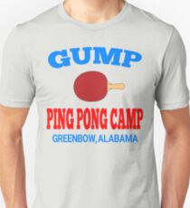 Gump Ping Pong Camp - Forrest Gump Unisex T-Shirt
