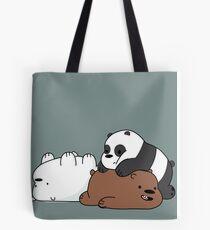 We Bare Bears Babys Tote Bag