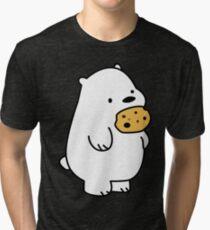 Ice Bear Cookies Tri-blend T-Shirt