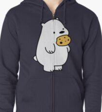Ice Bear Cookies Zipped Hoodie