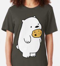 Ice Bear Cookies Slim Fit T-Shirt
