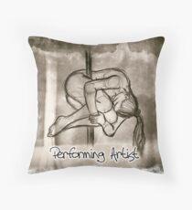 Performing artist Throw Pillow