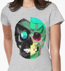 Half Black Skull T-Shirt