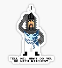 Bedevere - Monty Python and the Holy Pixel Sticker