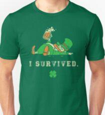 I Survived St. Patrick's Day Unisex T-Shirt