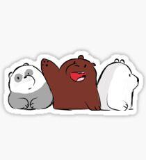 we bear bears Sticker