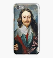 Anthony Van Dyck - Charles I iPhone Case/Skin
