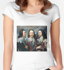 Anthony Van Dyck - Charles I Women's Fitted Scoop T-Shirt