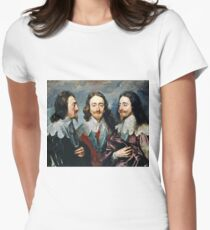Anthony Van Dyck - Charles I Womens Fitted T-Shirt