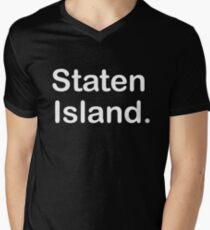 Staten Island Clothing  Men's V-Neck T-Shirt