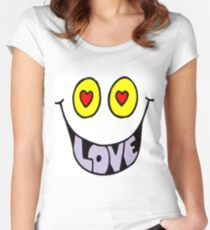 Fun Love  Women's Fitted Scoop T-Shirt